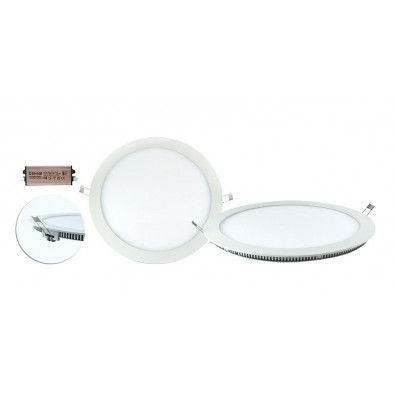 Plafonnier LED PVC 18W | Led Flash