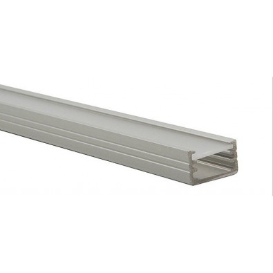 Profilé aluminium rectanulaire ruban led - 1 mètre I Led FLash