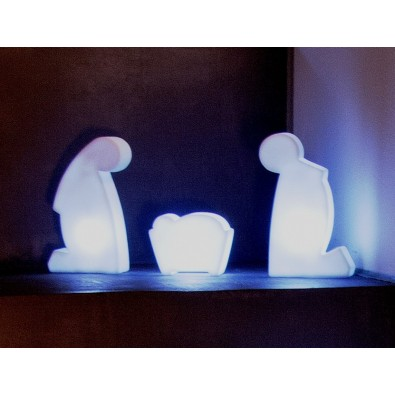 Shining Holy Family | Led-Flash
