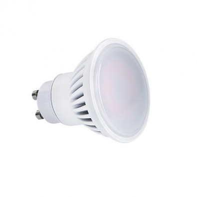 Spot led GU10 9 watt (eq. 70 watt) Finition Blanc | Led Flash