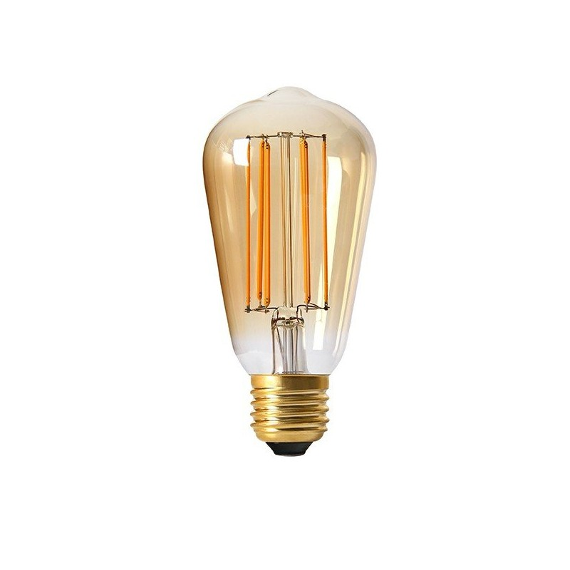 lot de 5 filament led edison e27 4 watt ambr e girard sudron d coration. Black Bedroom Furniture Sets. Home Design Ideas