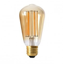 Ampoule led filament ST64 E27 EDISON | Led Flash