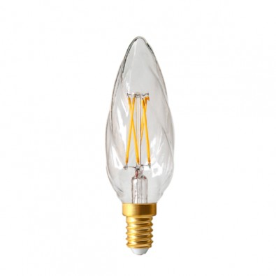 Ampoule led filament E14 flamme Claire Girard Sudron | Led Flash
