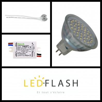 Kit Spot LED GU5.3 | Led Flash
