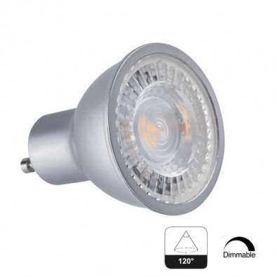 Spot led GU10 7,5 watt dimmable angle 120° | Led Flash