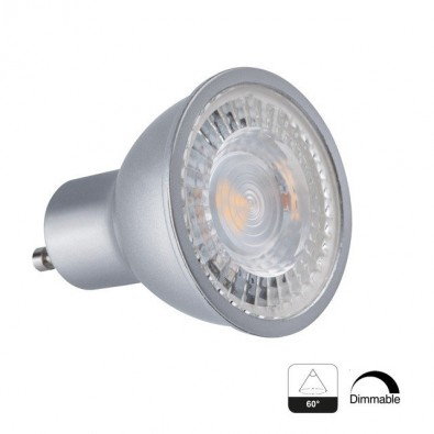 Spot led COB GU10 angle 60° 7,5 Watts Dimmable | Led Flash