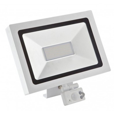 Projecteur led 30 watt blanc avec détecteur | Led Flash