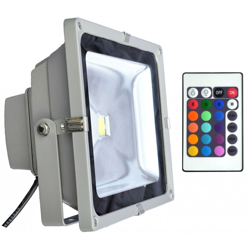 Projecteur ext rieur led 50w rgb for Projecteur led rgb exterieur