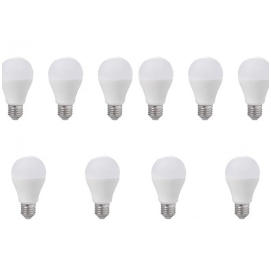 Lot de 10 ampoules led E27 12 watt (eq. 75 watt) | Led Flash