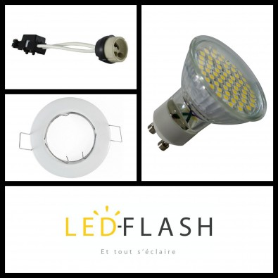 Spot LED GU10 3W | Led Flash