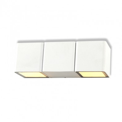 Applique Murale LED 2x3W IP54 | Led Flash