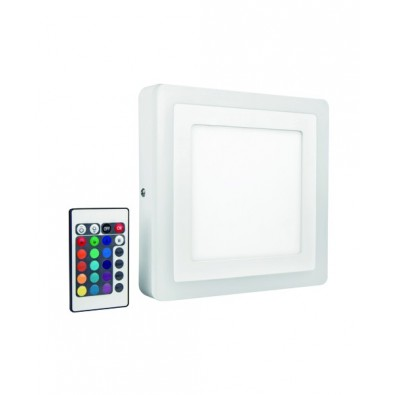 Applique LED COLOR+ - Plafonnier Carré 300mm 30 watt