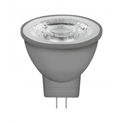 Spot LED MR11 GU4 36° verre 3,7 watt (eq. 35W) blanc chaud