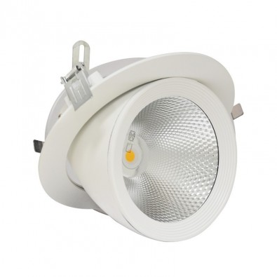 Spot led escargot Orientable 40W
