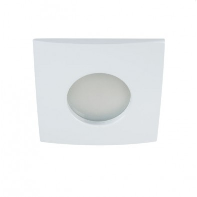 Support de spot LED étanche IP65 carré 83 mm
