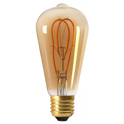Ampoule led E27 Twisted & Loop ST64 5 watt (eq. 25 watt)